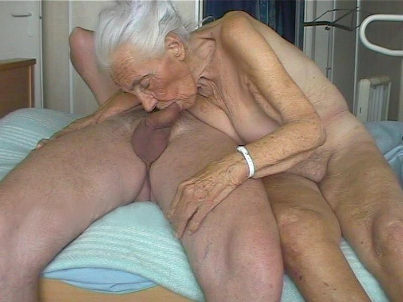 Very old grannies sucking cock
