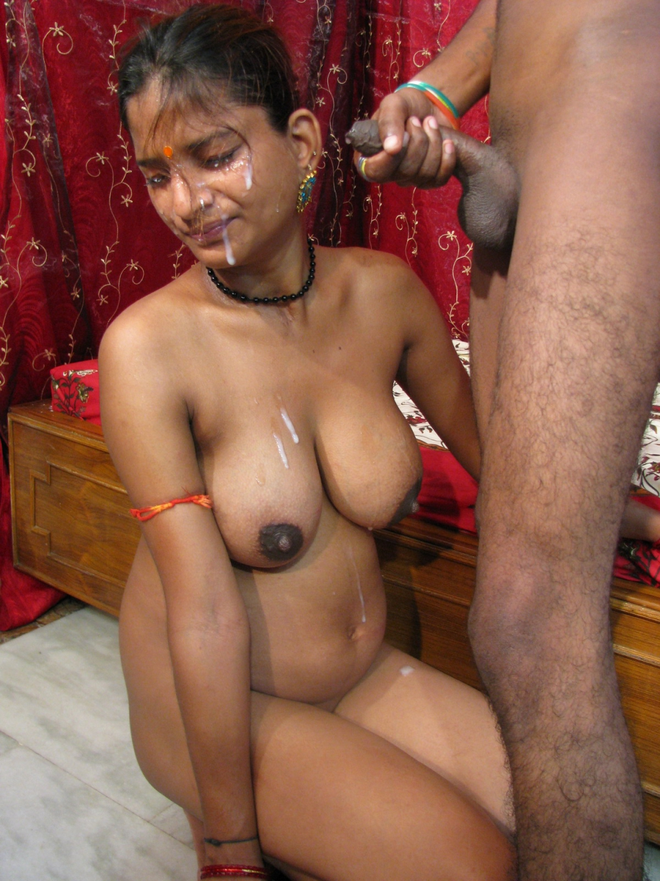 nude indian female with tattoo