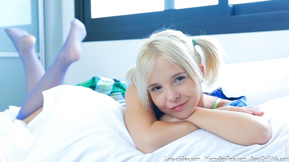 Teen Te Blonde Teen 114