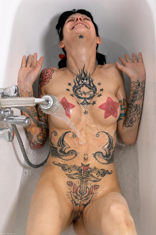 tattooed girls porn