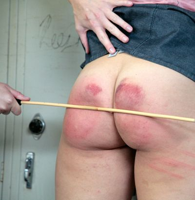 Shower Room Spanking