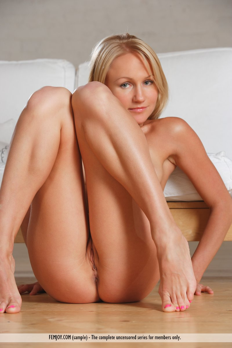 hot sexy blonde strips naked full size