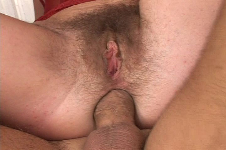 Hairy ass anal