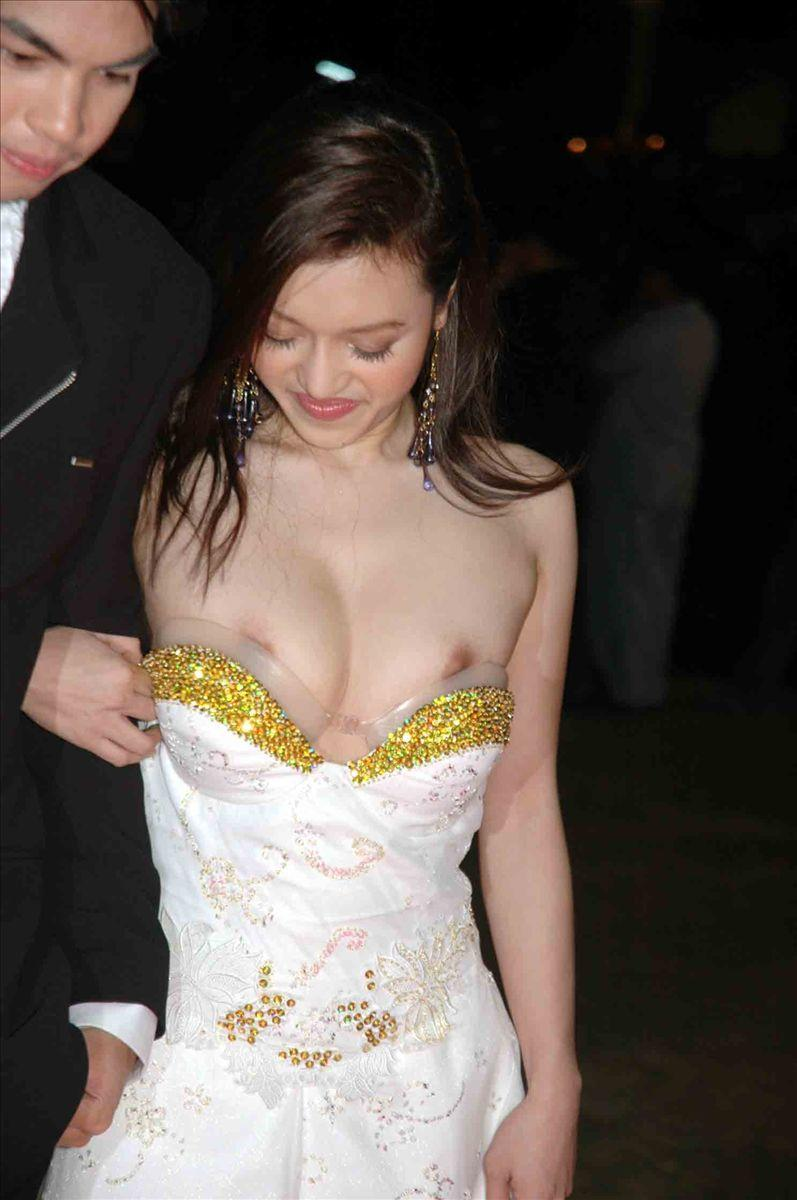 Think, Nude wedding dress nipple slip not take