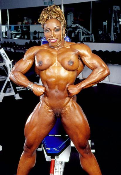 muscle black pussy pics