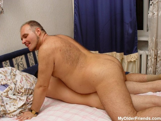 Bisexual gay man older