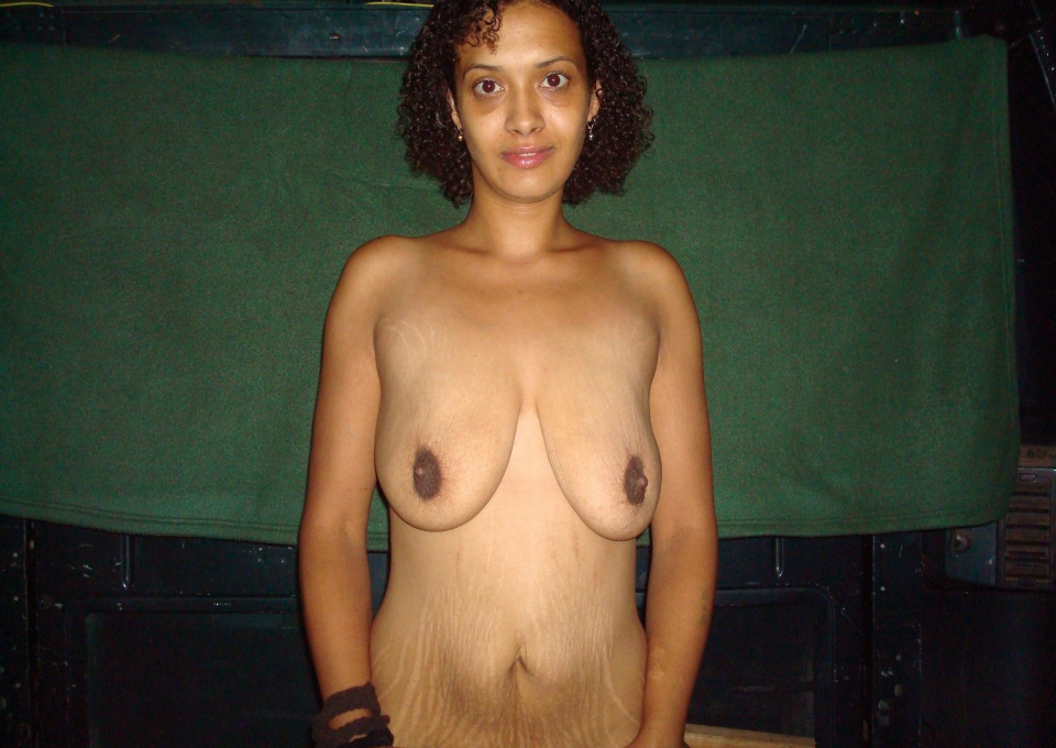 Big Floppy Black Tits 74