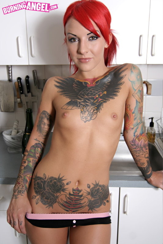 Will Nude women tatoo redhead