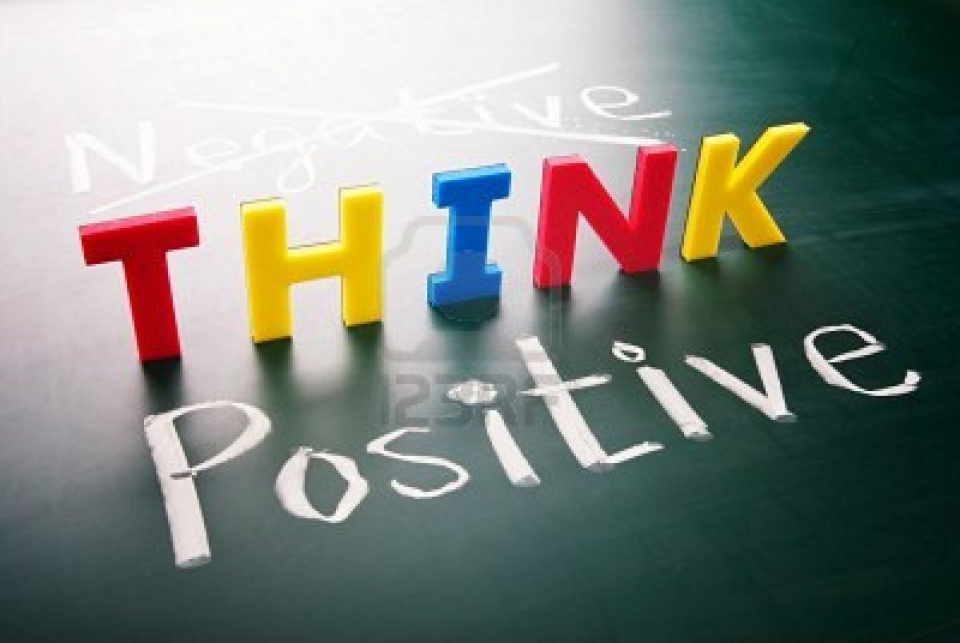think positive full size