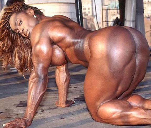 Black Naked Female Bodybuilders 103