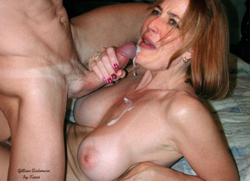 Mature swallow blowjob