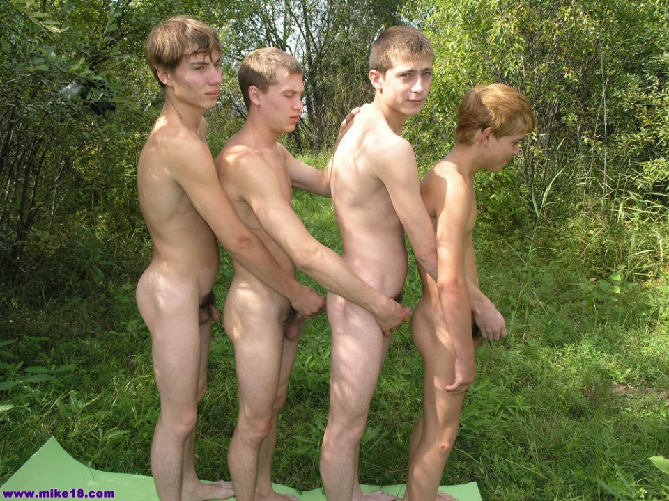 Good Young russian family nudists