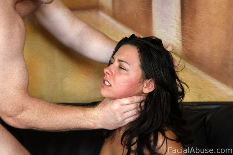 Throat bukkake face abuse fucked
