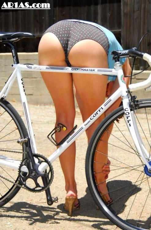 bending over hot girls on bicycles full size