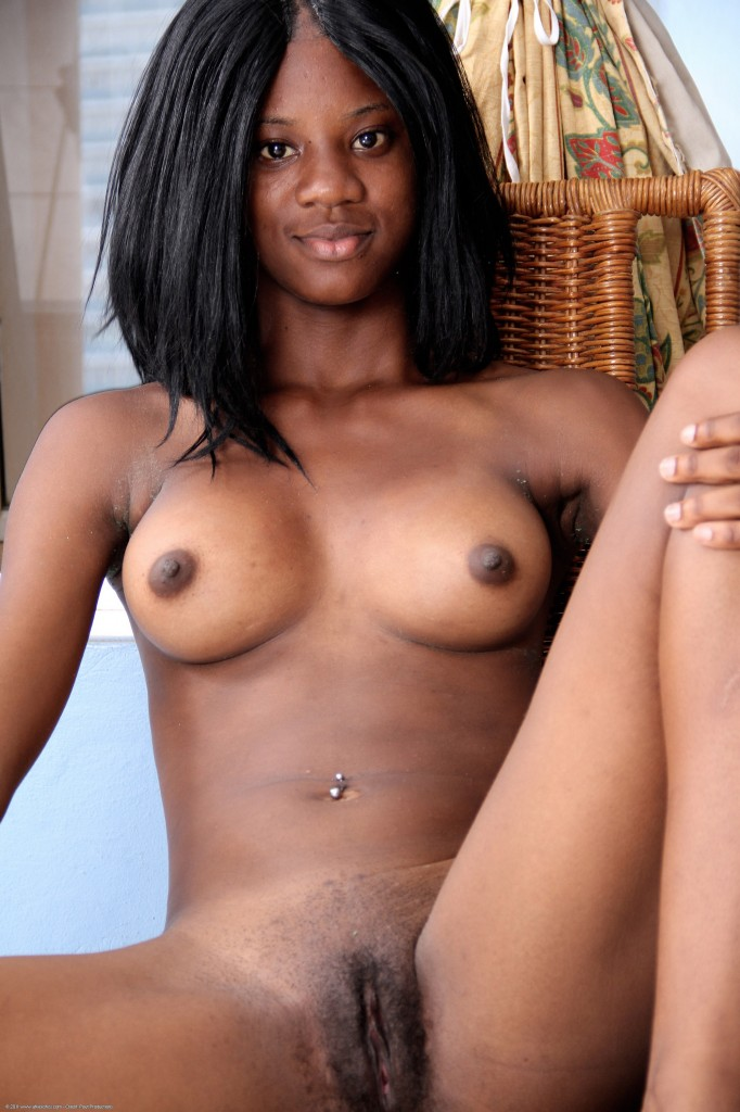 Pretty young ebony nude this