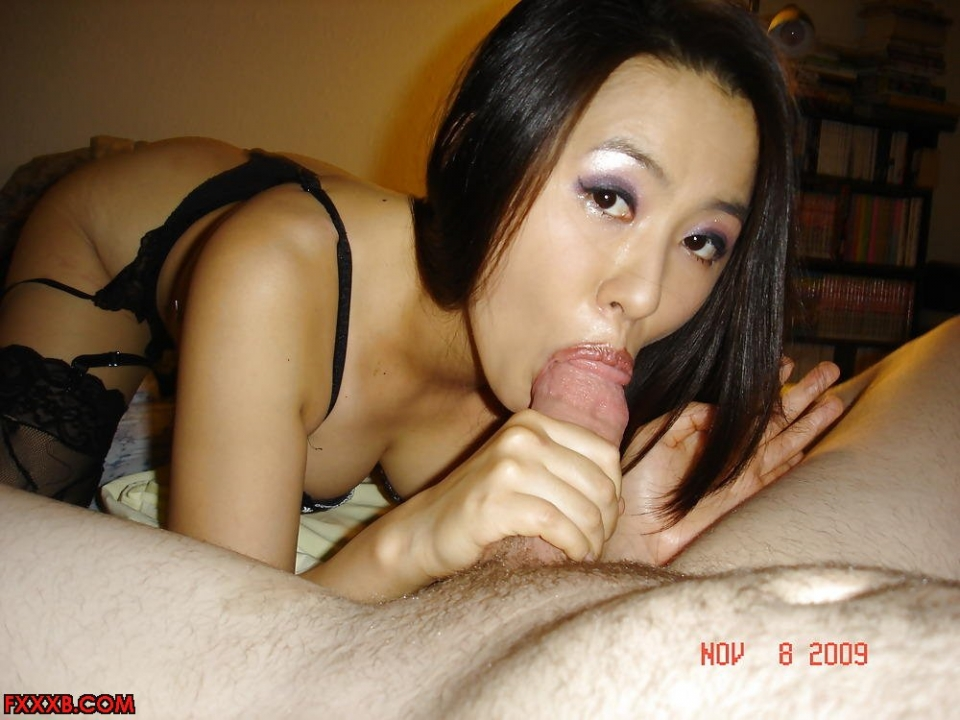 Chinese girls blow job