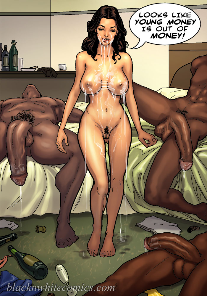 Interracial Toons, BBC Cartoon Porn, Cuckold