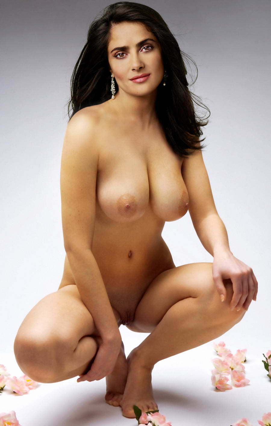 Salma hayek pussy hairy pussy think, that