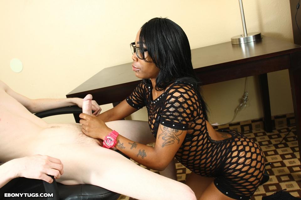 black ebony babe handjob full size