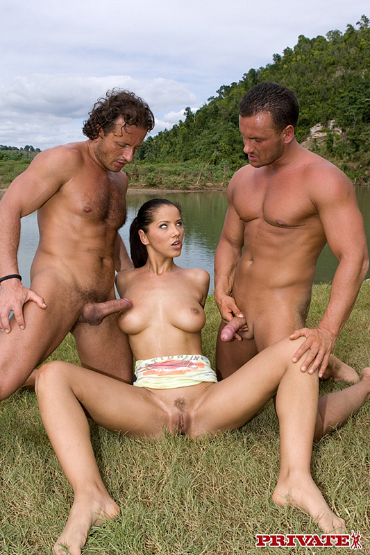 Anal angels double penetration