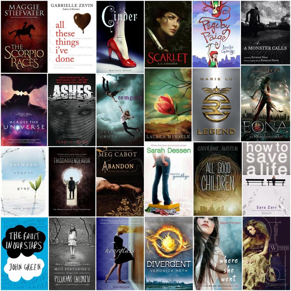 yalsa top ten teen books full size