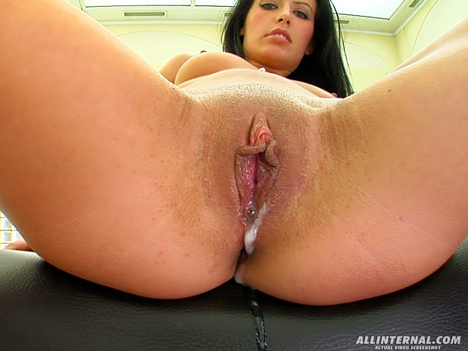 All internal melanie gold gets big internal creampie