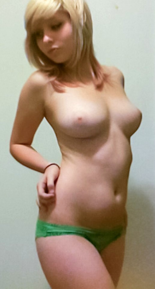 Cute Blonde Tits 18