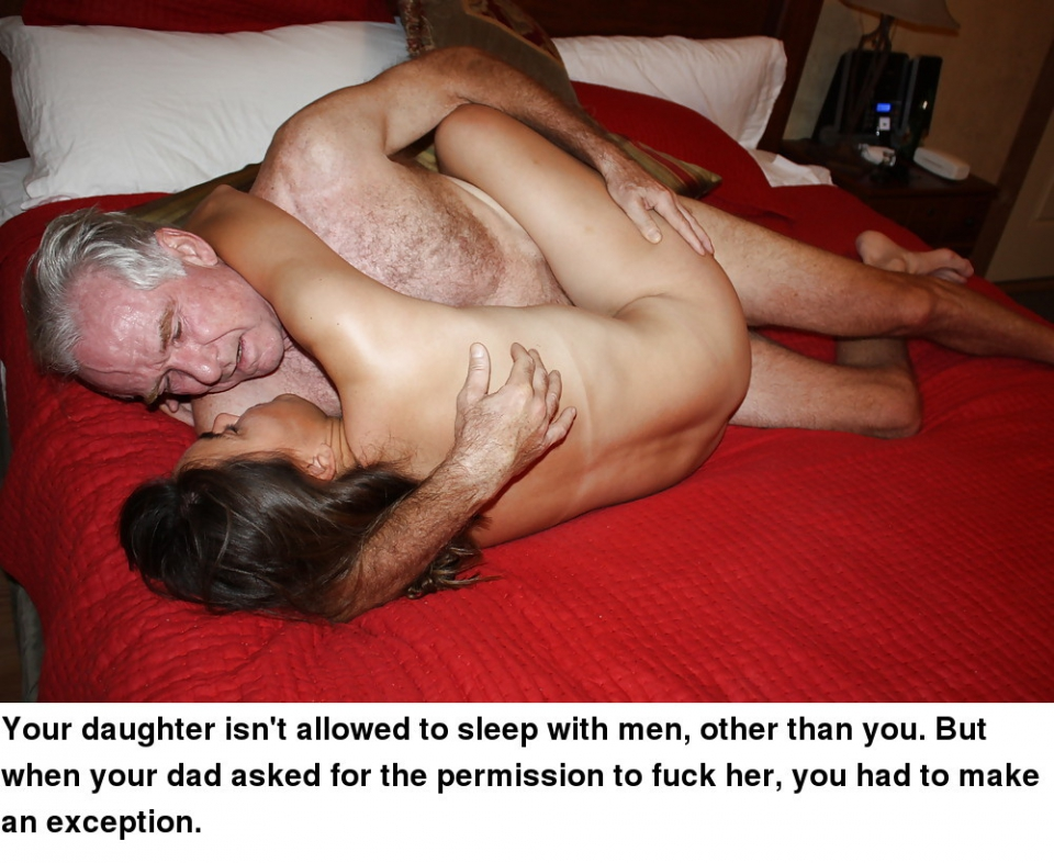 Daughter Begs Daddy Cum