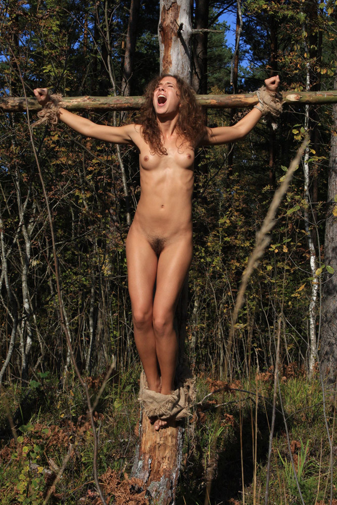 Good busty crucified nude variant