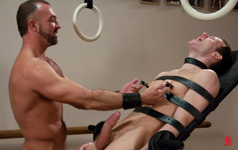 gay male intense bondage