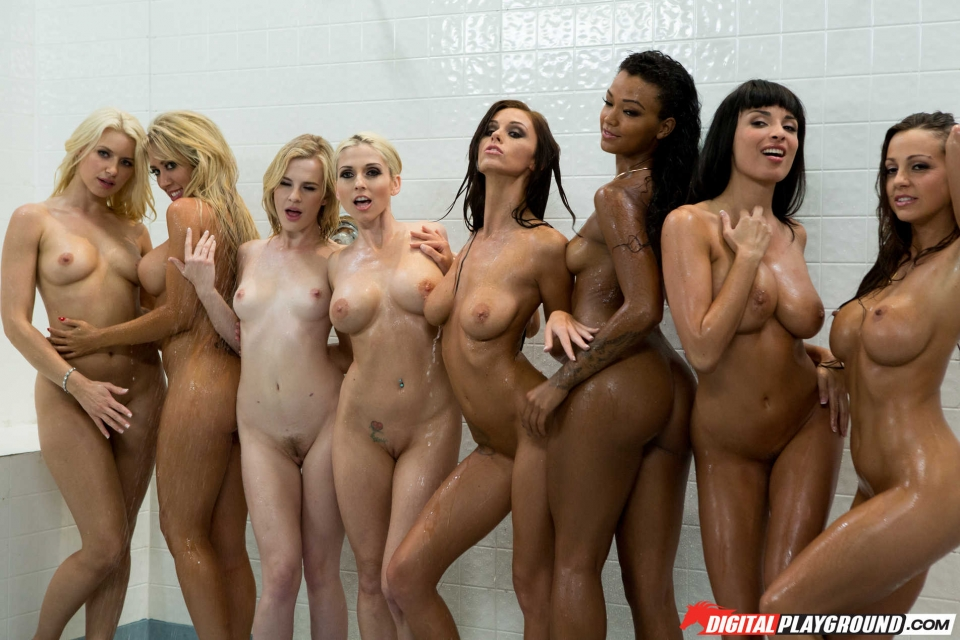 Group shower naked pics