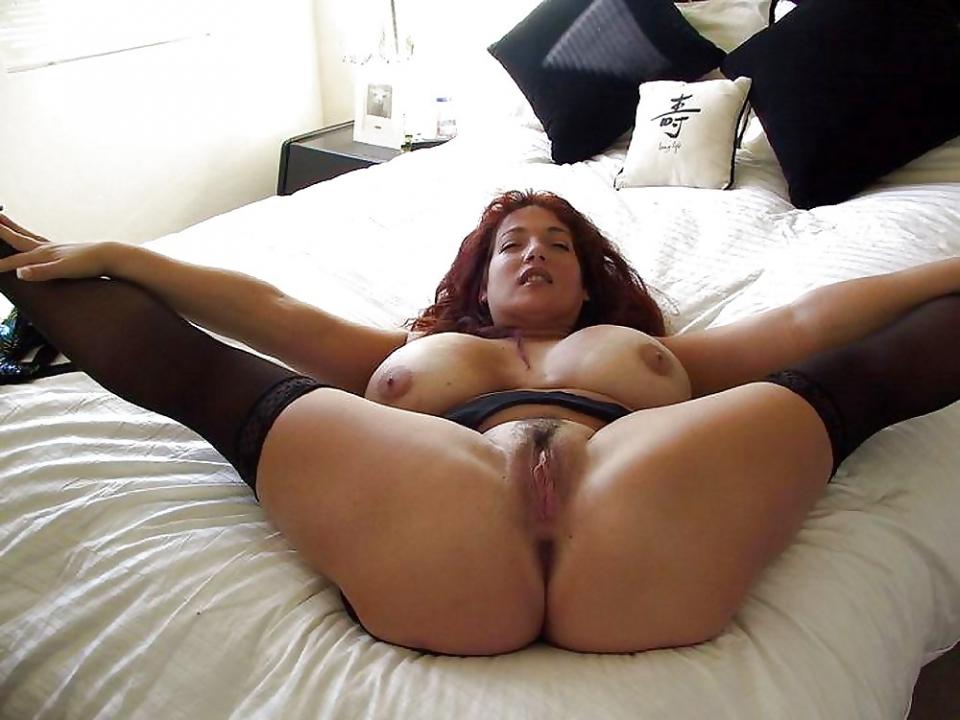 legs spread Big pussy tit