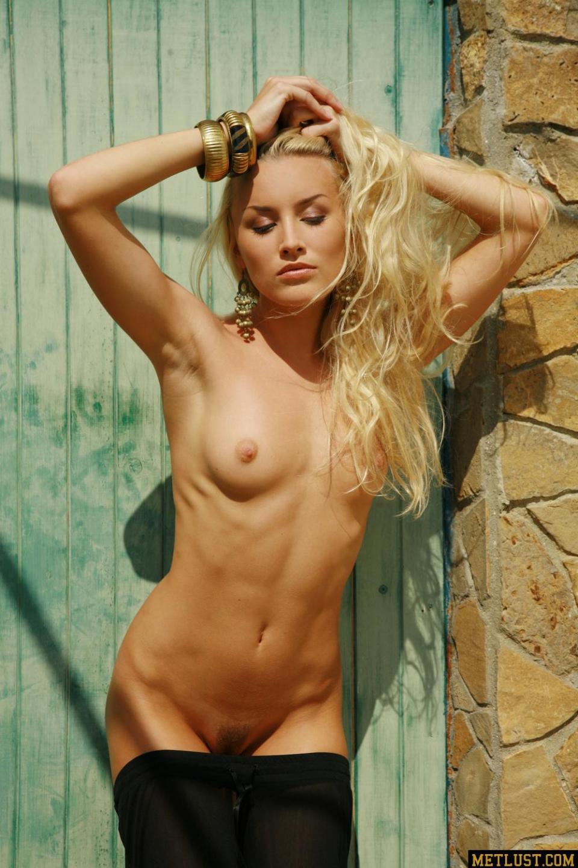 thin blond