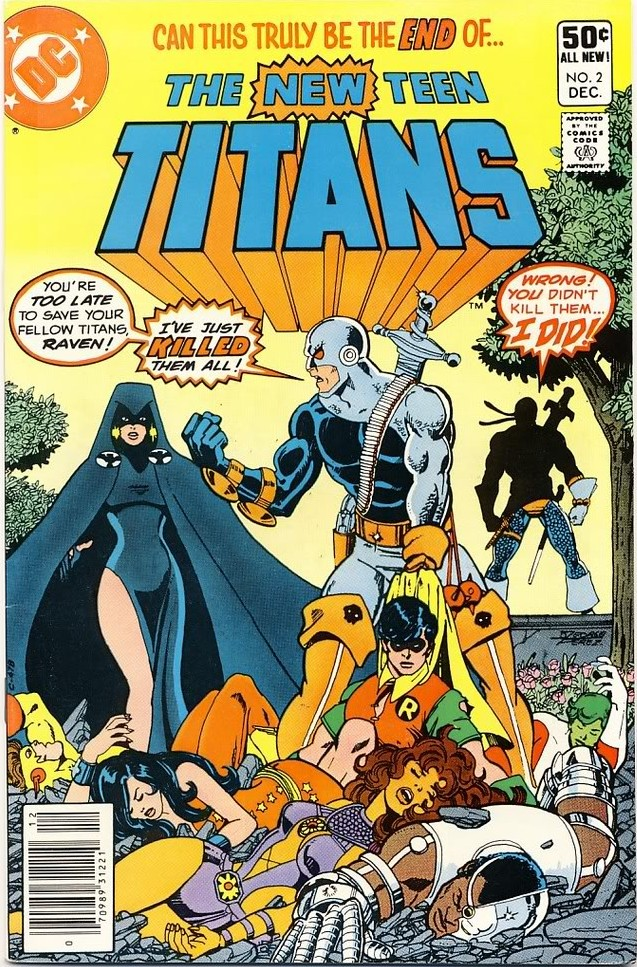 new teen titans comic 2 full size