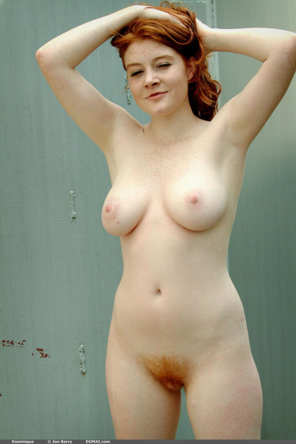 Big beautiful redhead
