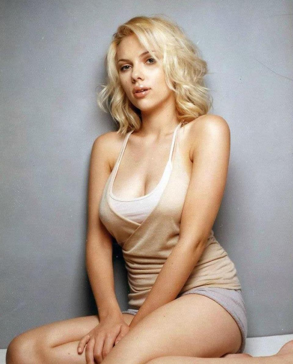 johansson most woman Scarlett beautiful