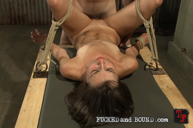 Predicament bondage self climbing