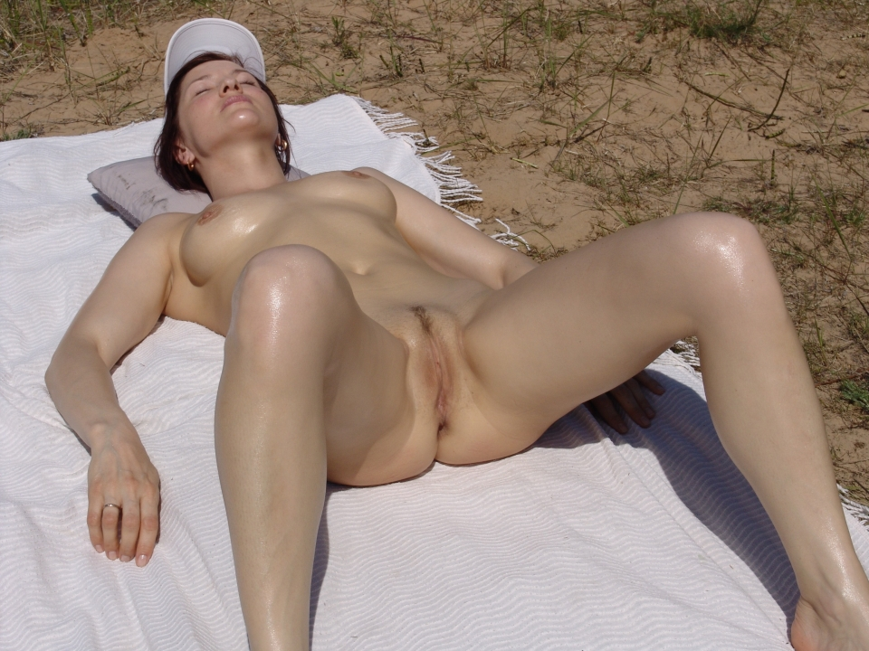 beach Mature candid voyeur nude