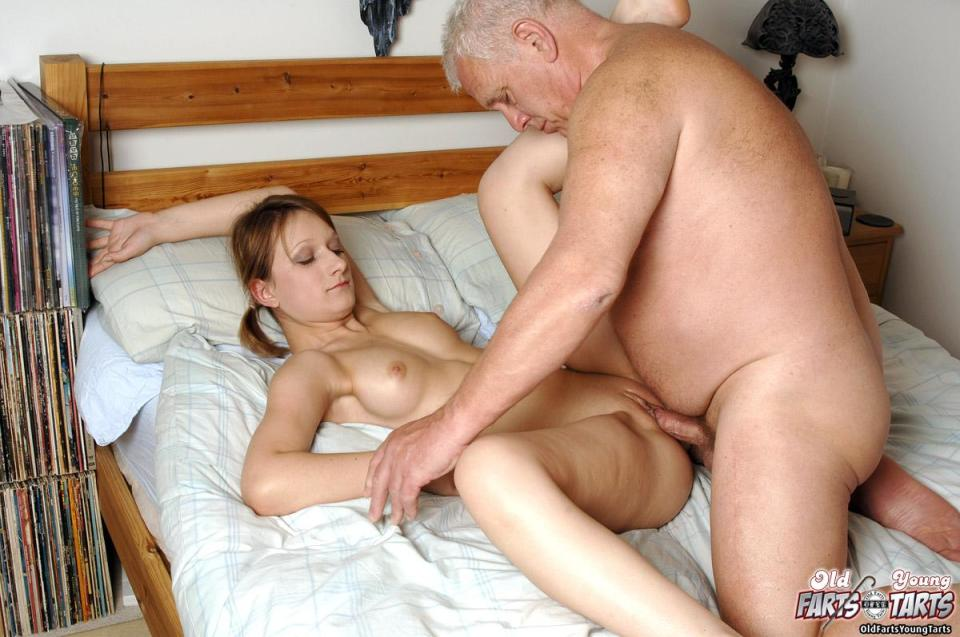 old man young girl and erection full size