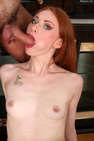 Порно фото худенькие рыжие