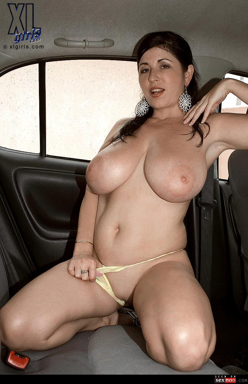 Latina bbw solo milf big tits car