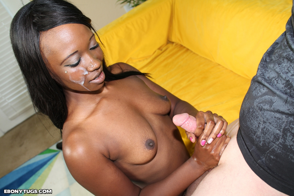 black girls giving white handjob full size