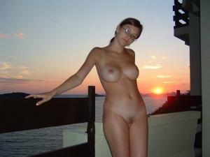 Babysitter caught naked