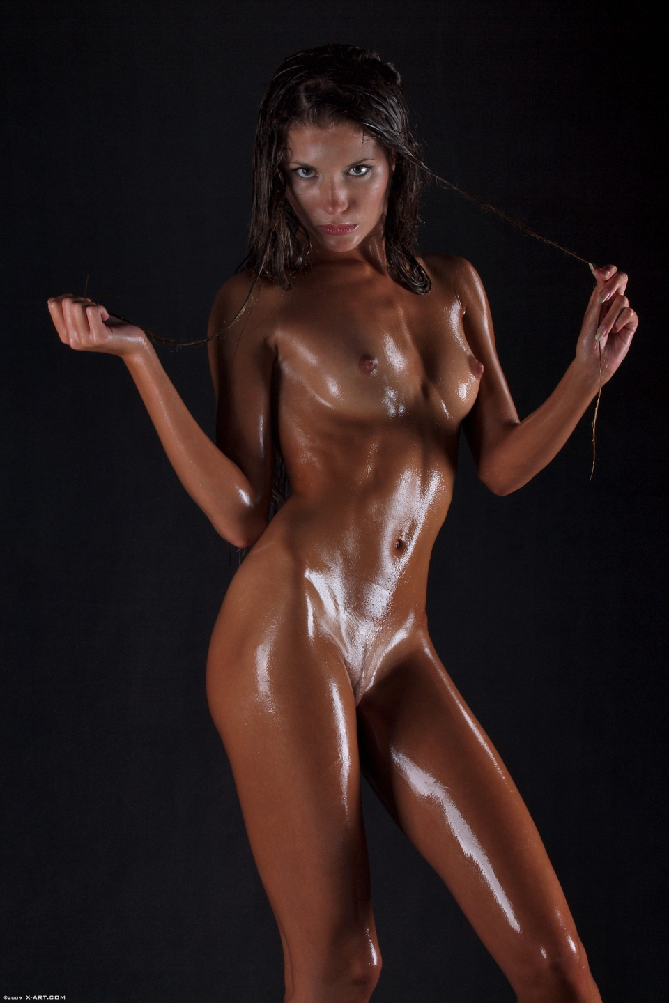 Oiled Ass Girls