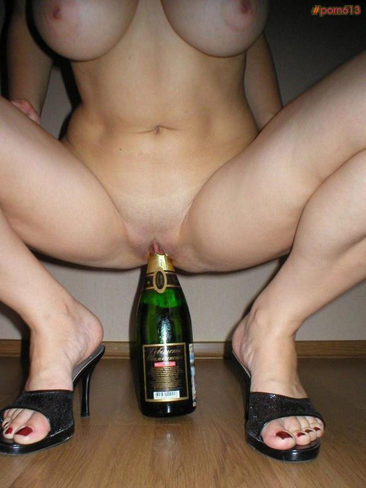 порно фото бутылка