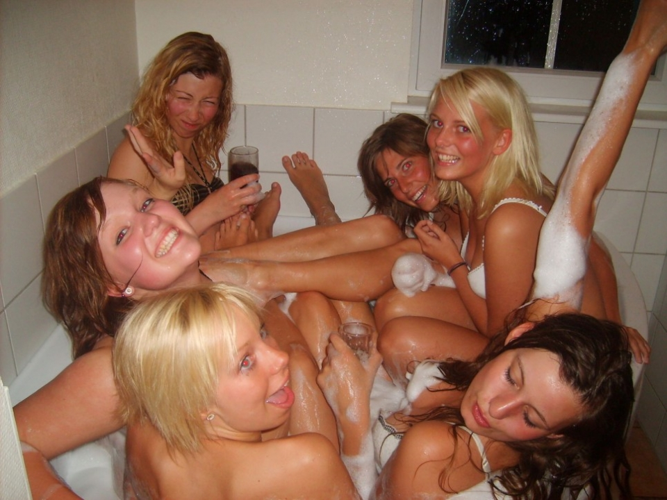 Theme Slumber party nude sex college for that