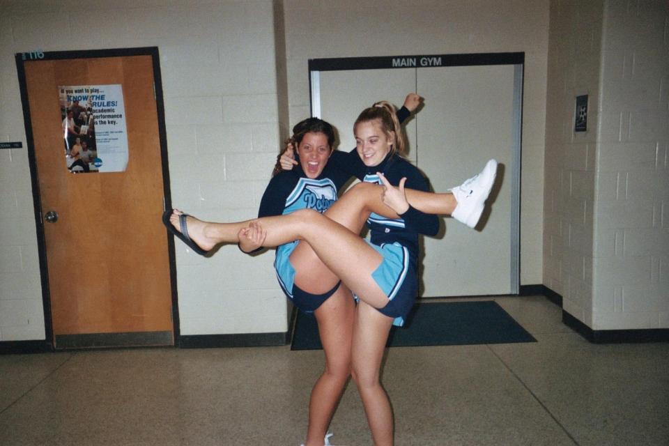 middle school cheerleaders ass