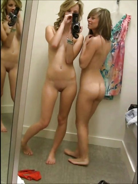 dressing room sexy nude shot