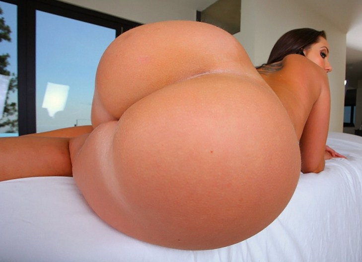 Girls white big ass round