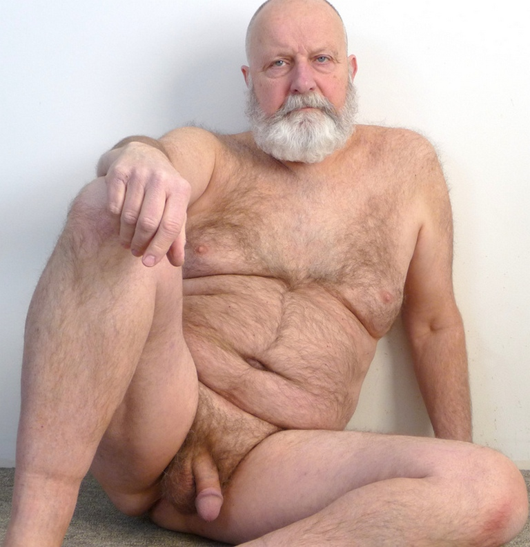 naked hairy old men grandpa full size